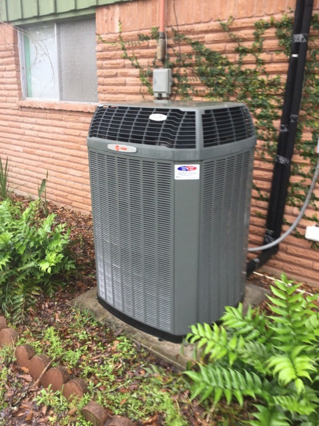 Pearland, TX - Ac Tune up on Trane unit in pearland Tx