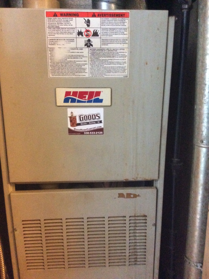 Youngstown, OH - Another furnace feeling happy to be nice and clean on the inside! 🤗
