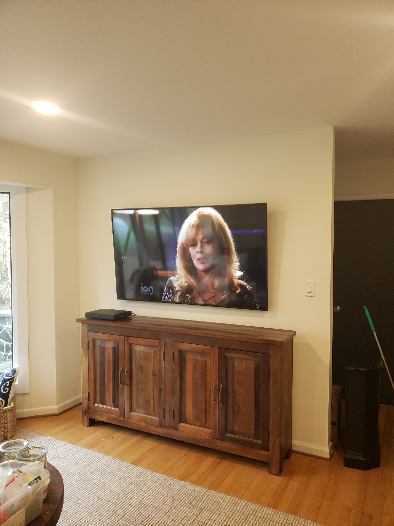 Raleigh, NC - TV install