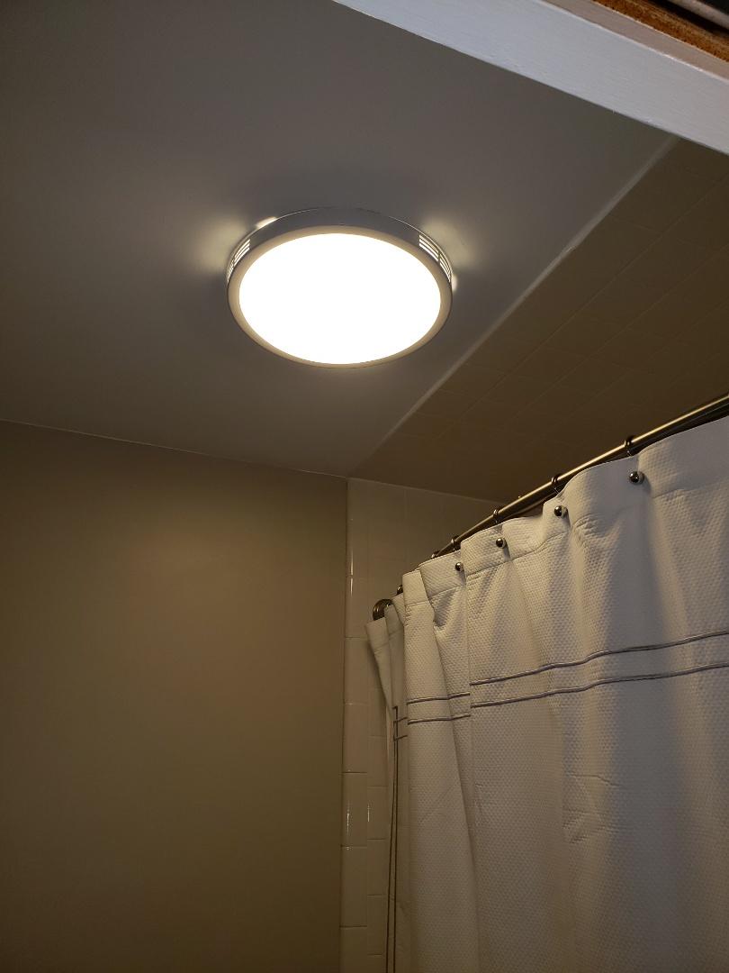 Raleigh, NC - Install new bath light fan