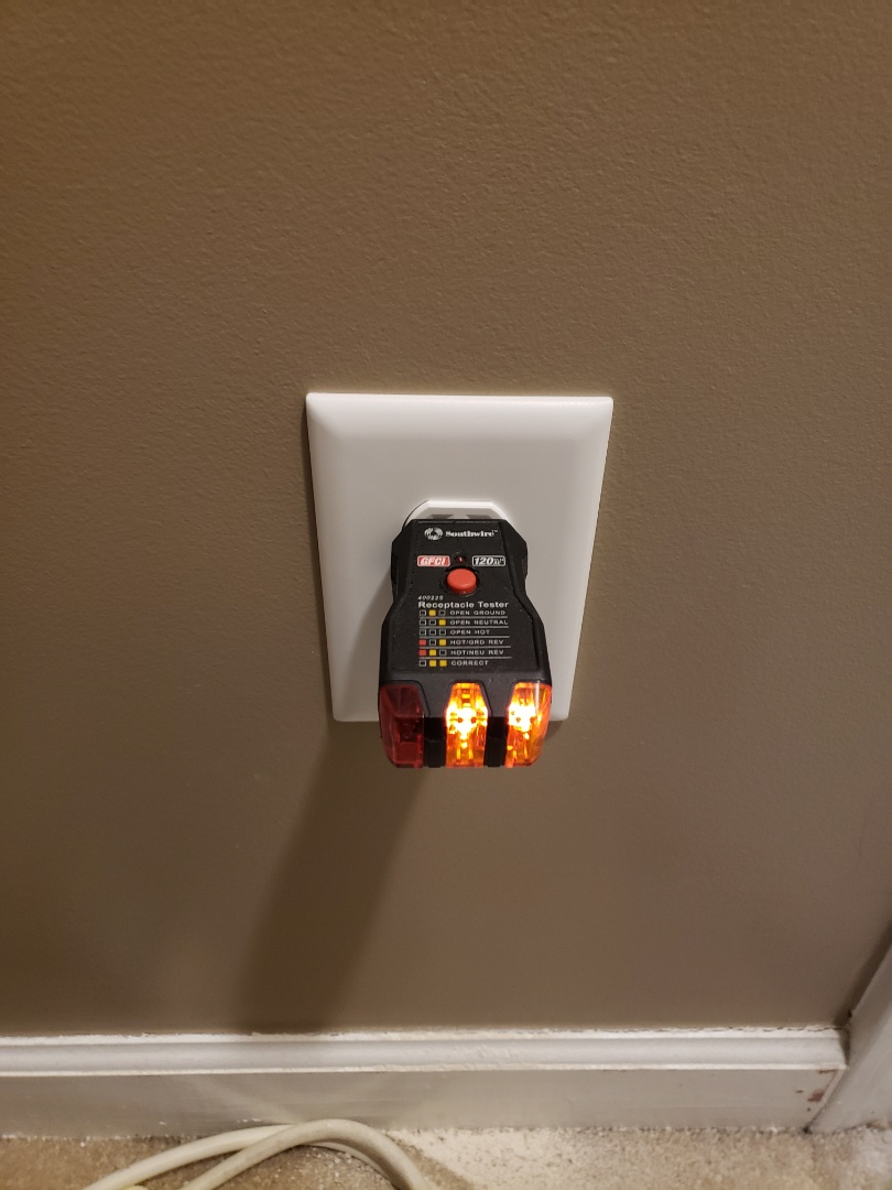 Raleigh, NC - Add outlet in master closet