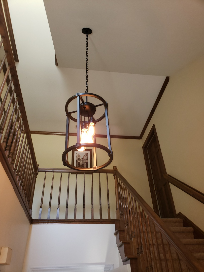 Wake Forest, NC - Install customer supplied lights and ceiling fan