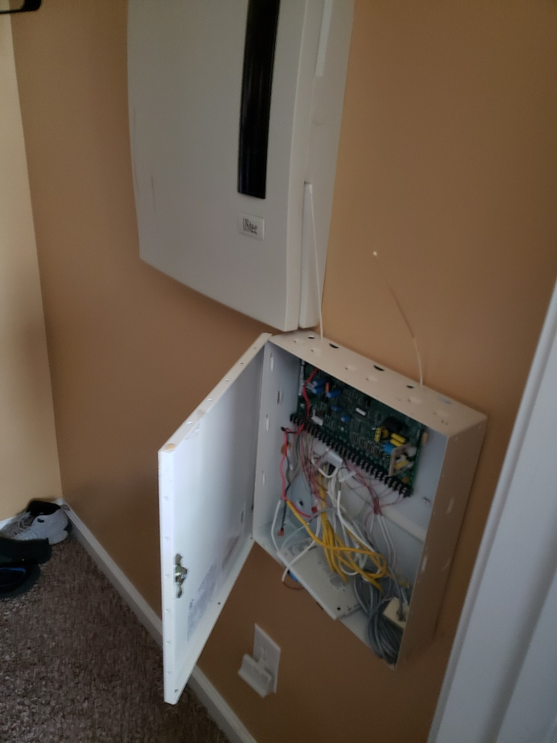 Morrisville, NC - Fix electrical issues in closet for security box which had current running through it