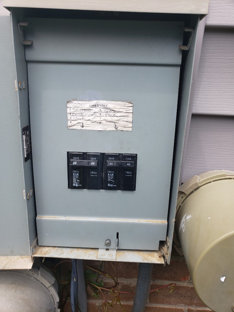 Wake Forest, NC - Replace faulty breakers in HVAC units