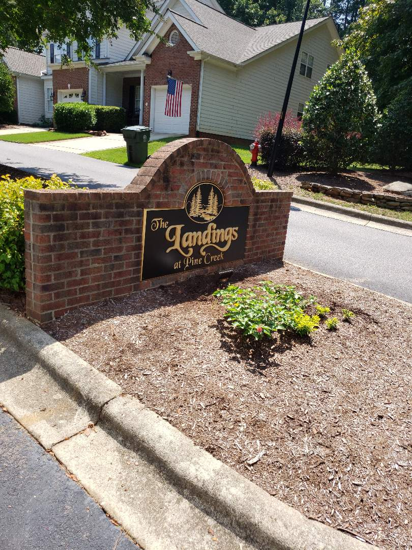 Cary, NC - Replacing signs lights