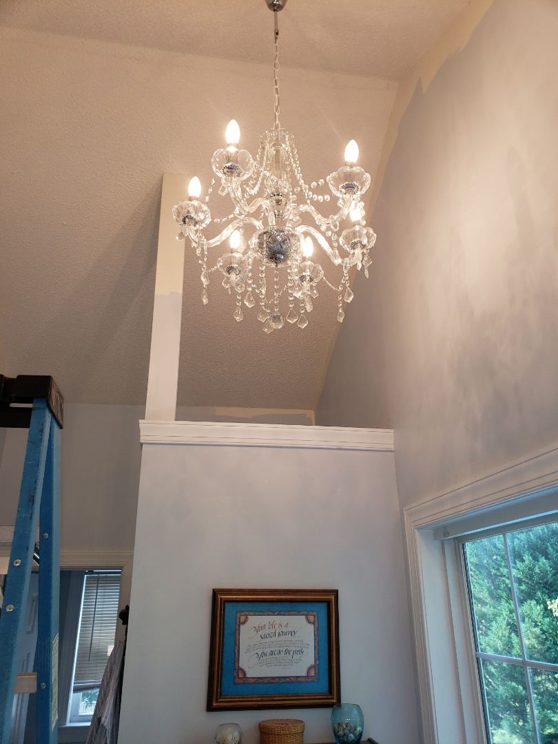 Clayton, NC - Install customer supplied lights