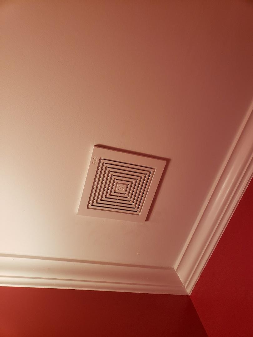 Wake Forest, NC - Install new bathroom exhaust fan