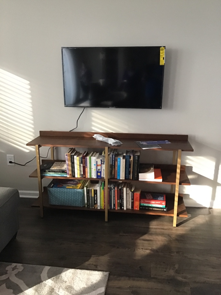 Wake Forest, NC - Installing customer supplied TV