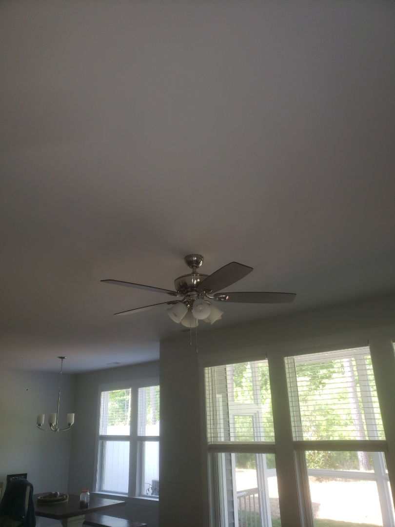 Cary, NC - Installed 3 customer supplied ceiling fan