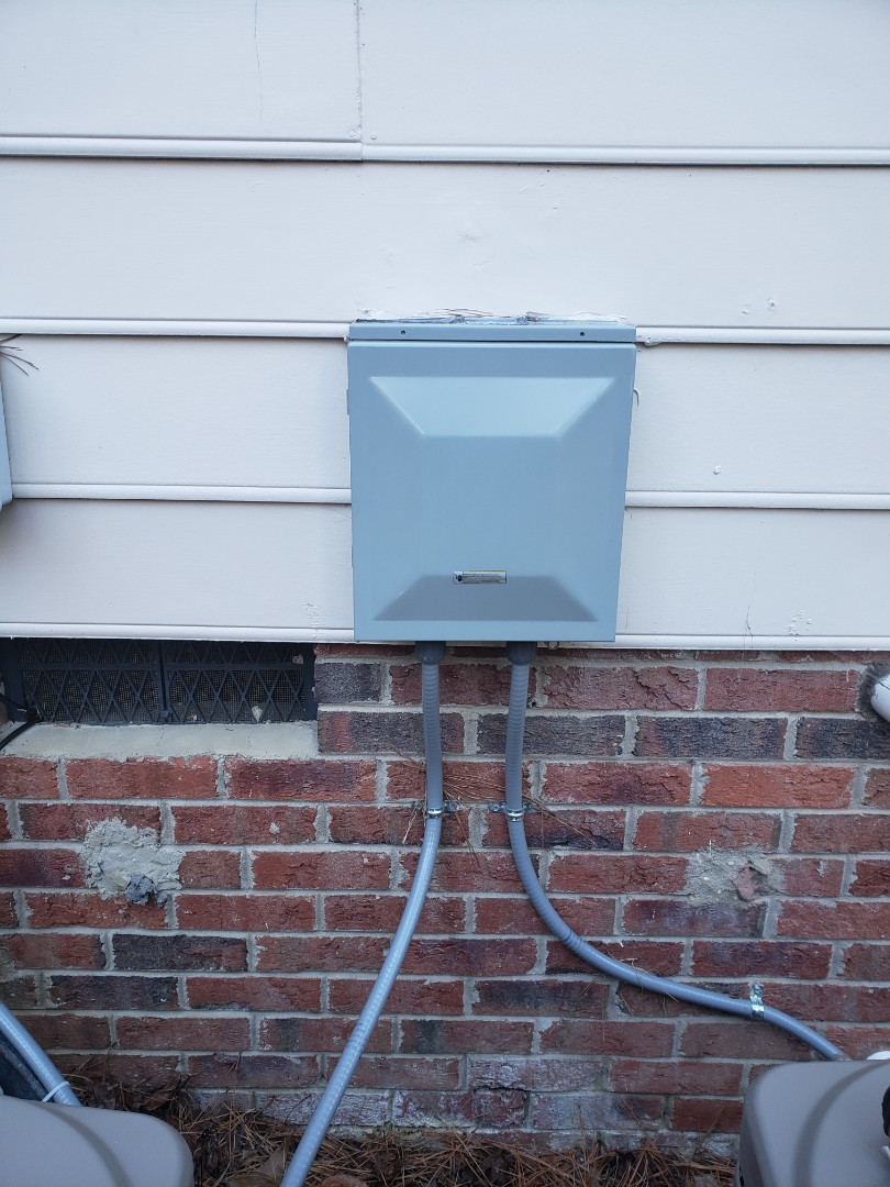 Cary, NC - Remove old surge protectors from hvac panel.