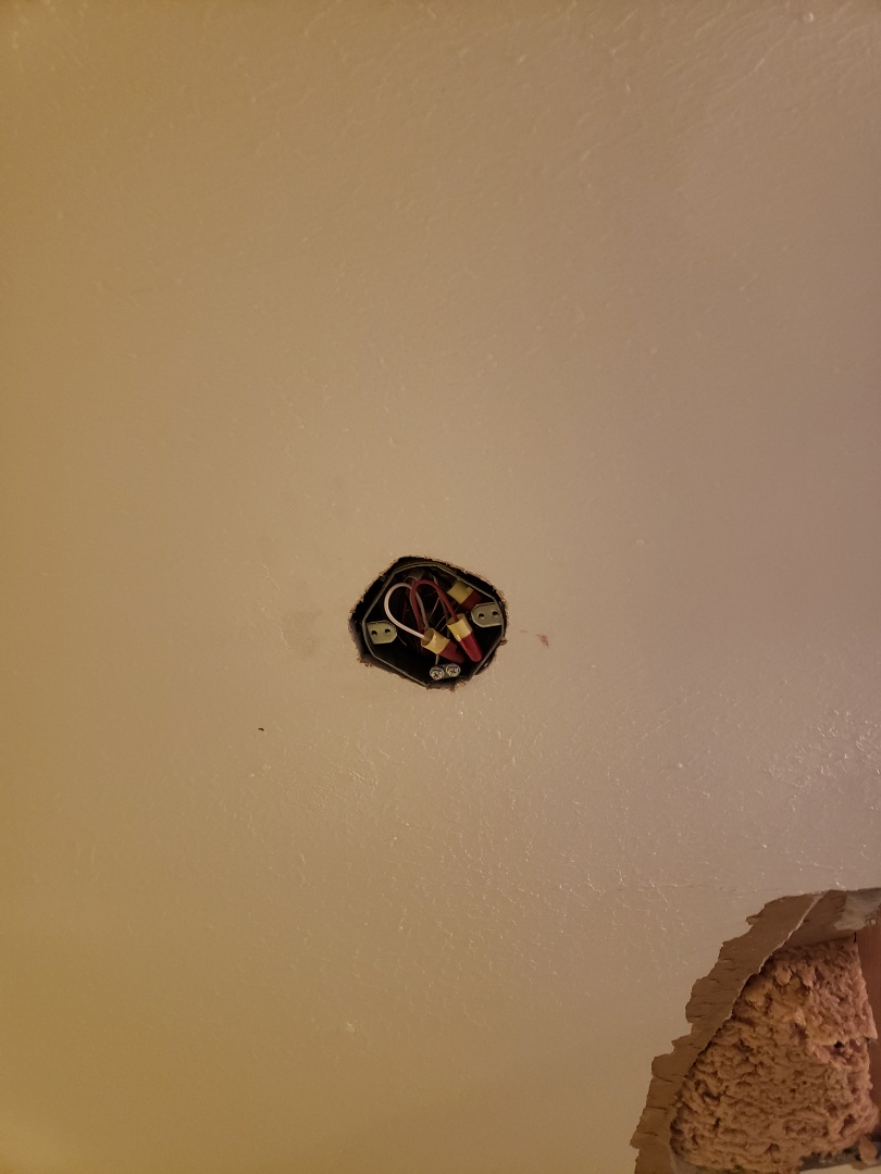 Raleigh, NC - Pre wire for ceiling fan