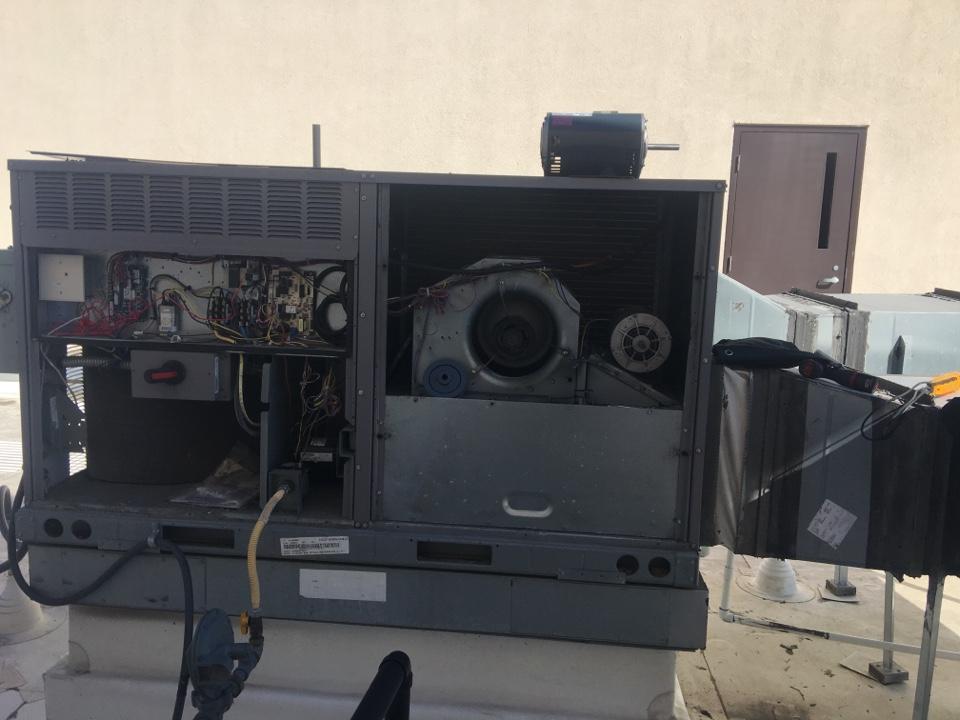 Redondo Beach, CA - Replacing an indoor blower motor