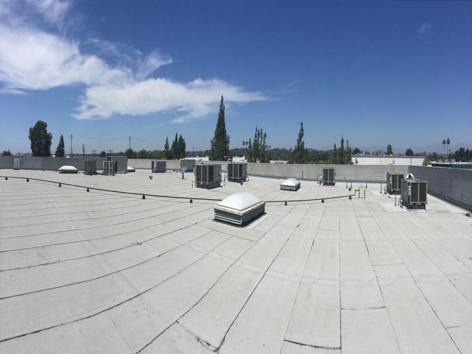 Fullerton, CA - Doing a preventative maintenance estimate on this commercial building