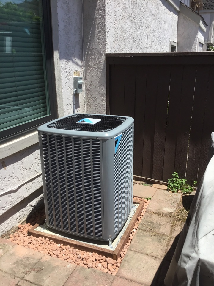 Cypress, CA - Full system Chang out with duct