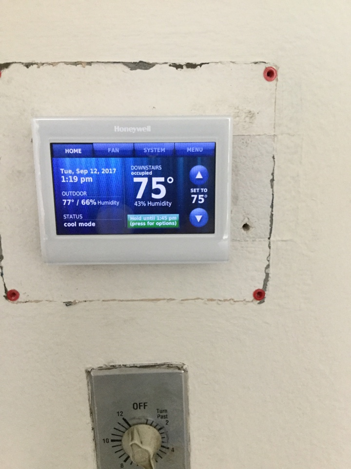 Irvine, CA - Troubleshooting a thermostat