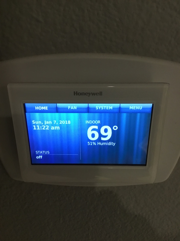 Lake Forest, CA - Testing thermostat