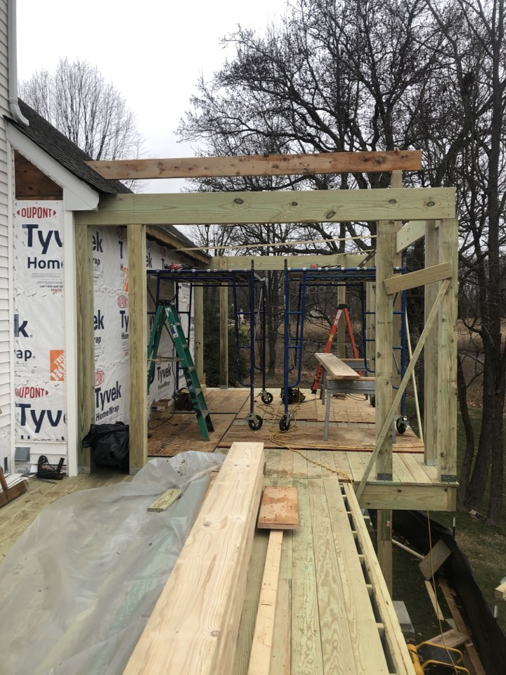 West River, MD - Deck remodel with screen porch