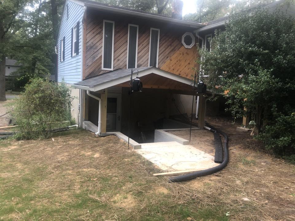 Millersville, MD - Porch patio