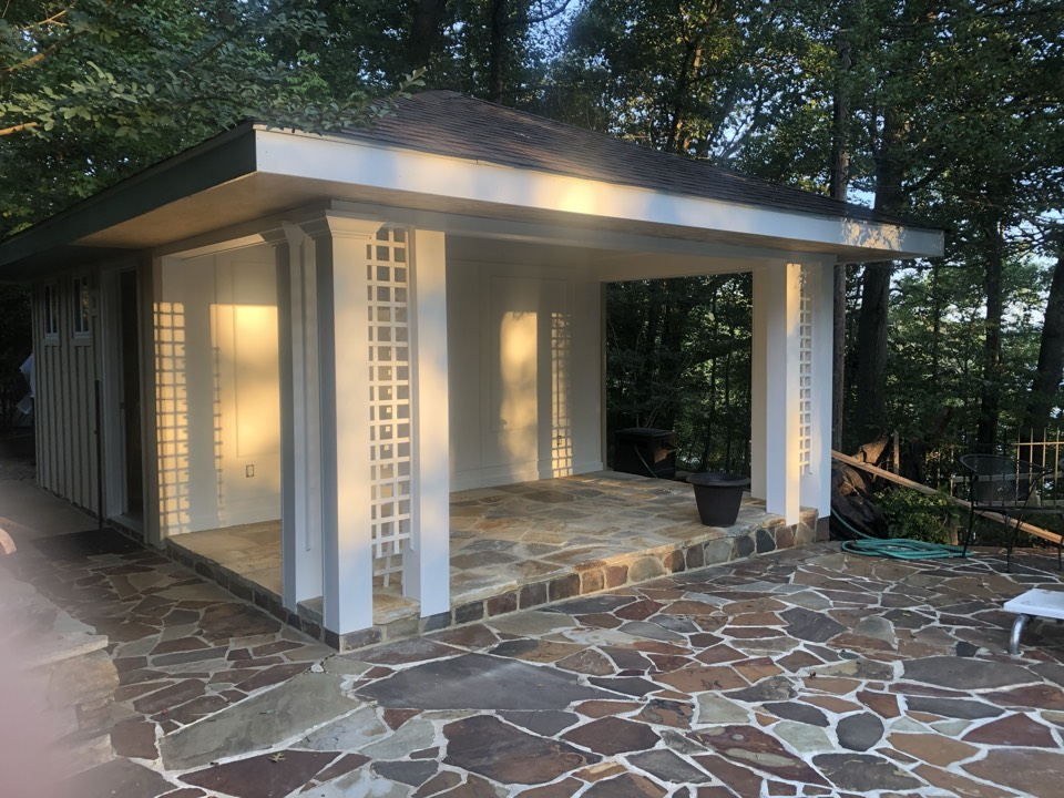 Davidsonville, MD - Pool house remodel into the she shed