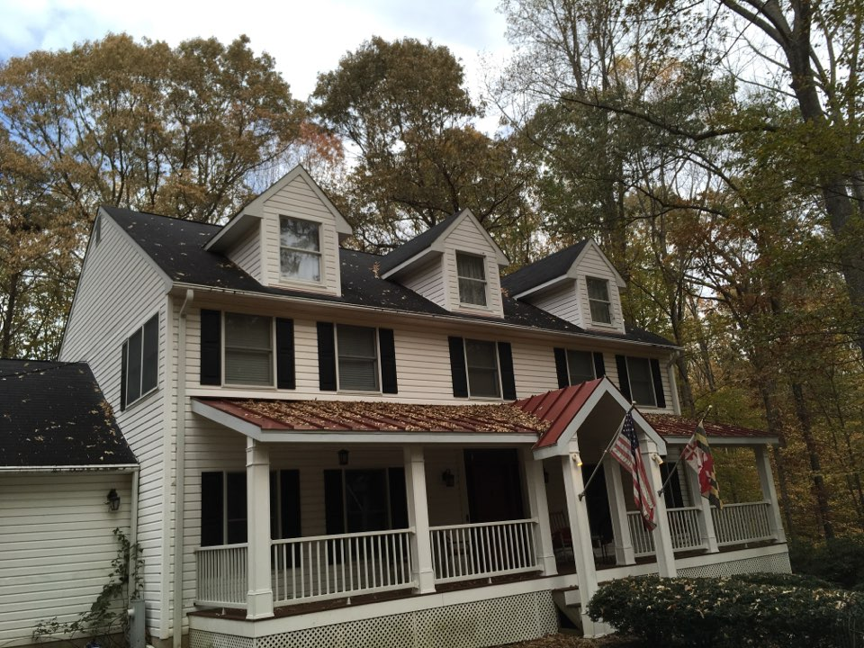 Gambrills, MD - Measuring roof for roof replacement