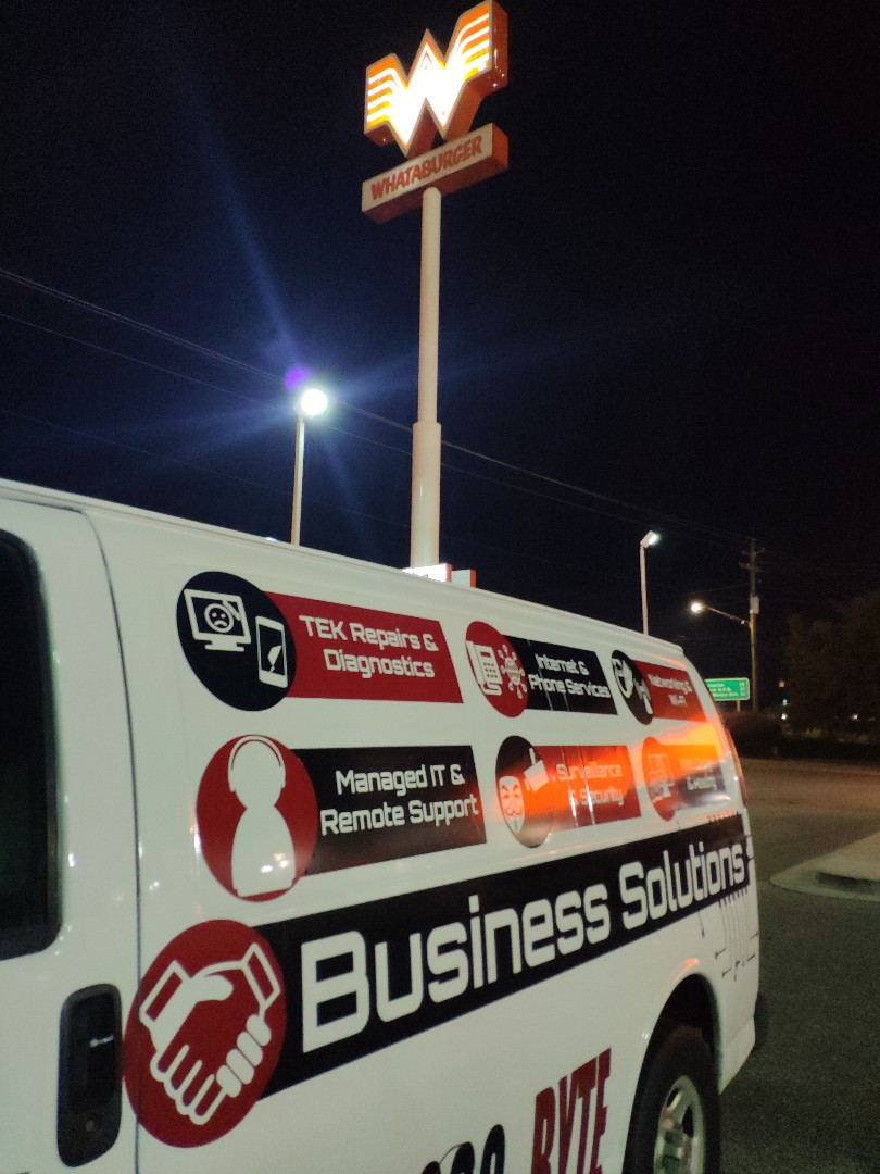 Crestview, FL - Fixing down point of sale stations