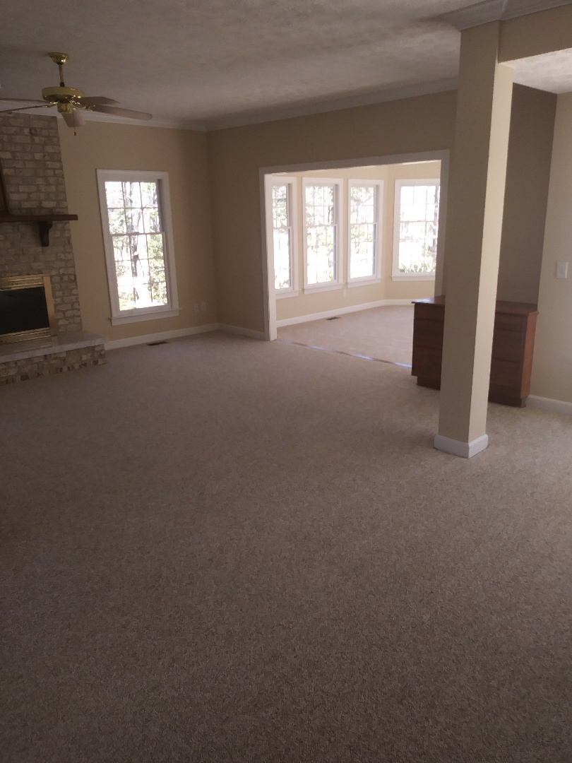 Williamsburg, VA - Working on a 10 area empty move out.