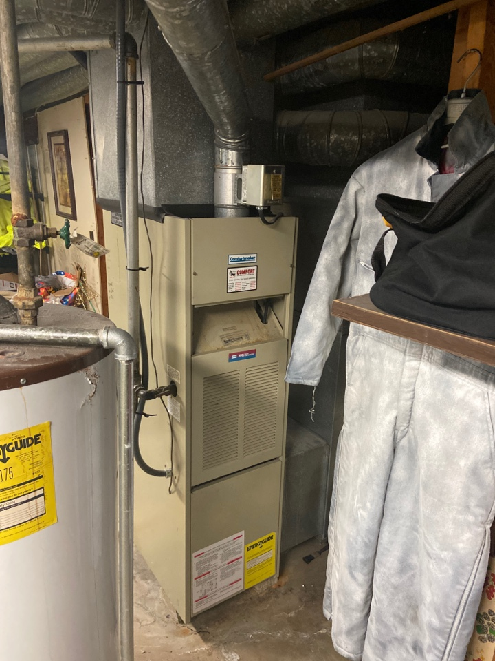 Granite City, IL - Replacing an old furnace in Granite City