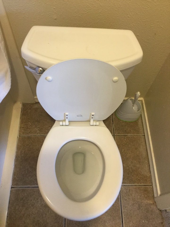 Garland, TX - Toilet in upstairs bathroom is stopped up need to repair. Auger toilet with water closet auger to clear stoppage. Garland plumbers