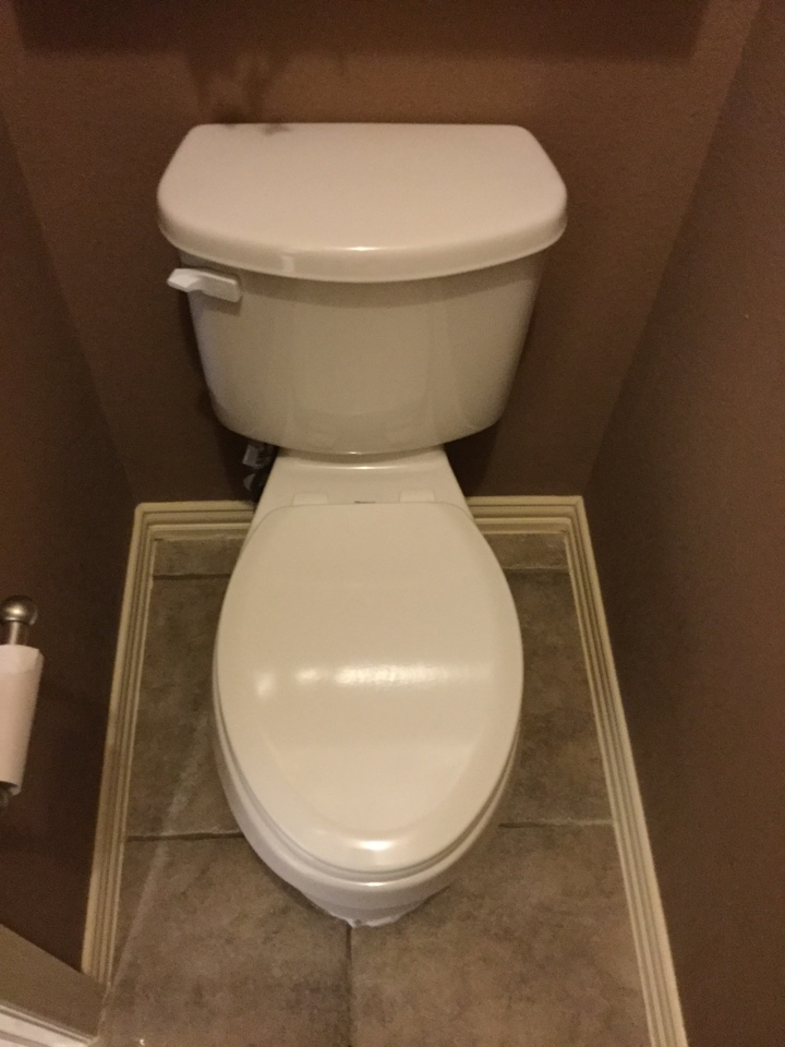 Forney, TX - Toilet is wobbling need repair. Install new toilet In master bathroom