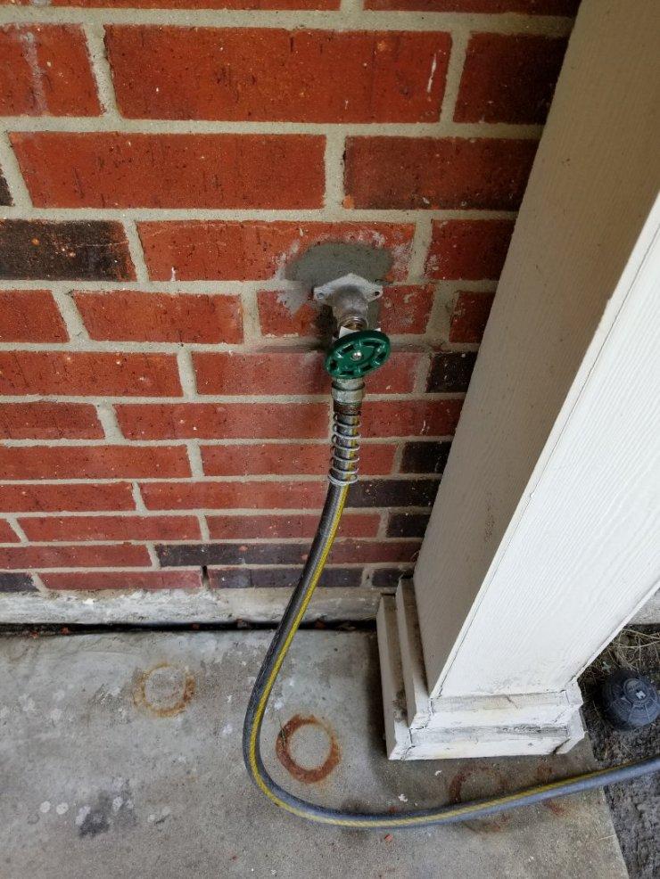 McKinney, TX - Frostproof in backyard is leaking need repair. Install new Frostproof faucet