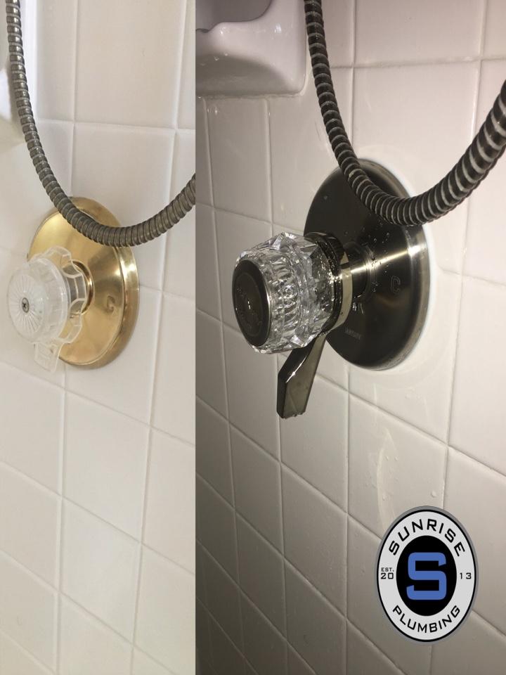 Plano, TX - Install new trim on mixet shower valve