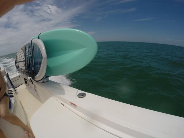 Jupiter, FL - Now we can take our boards to the Bahamas without a worry.