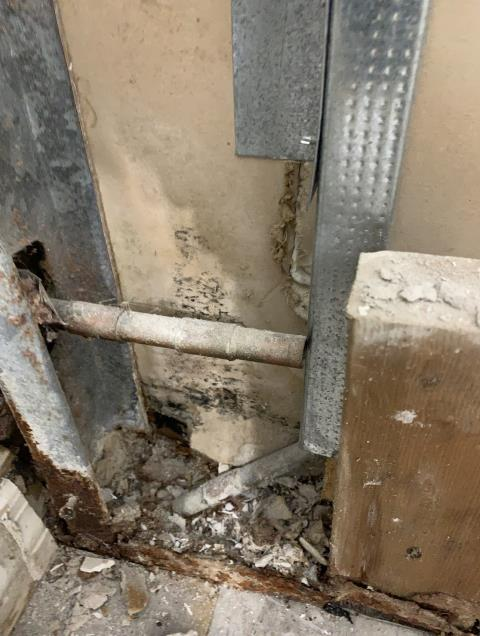 Boca Raton, FL - Once you discover a mold problem at your home please contact a reputable mold company to remediate the area. Small mold areas can proof to be much bigger once walls are removed.
