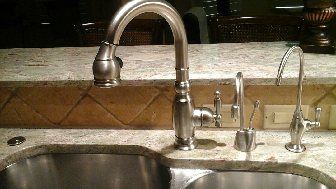 Cedar Hill, TX - Faucet install