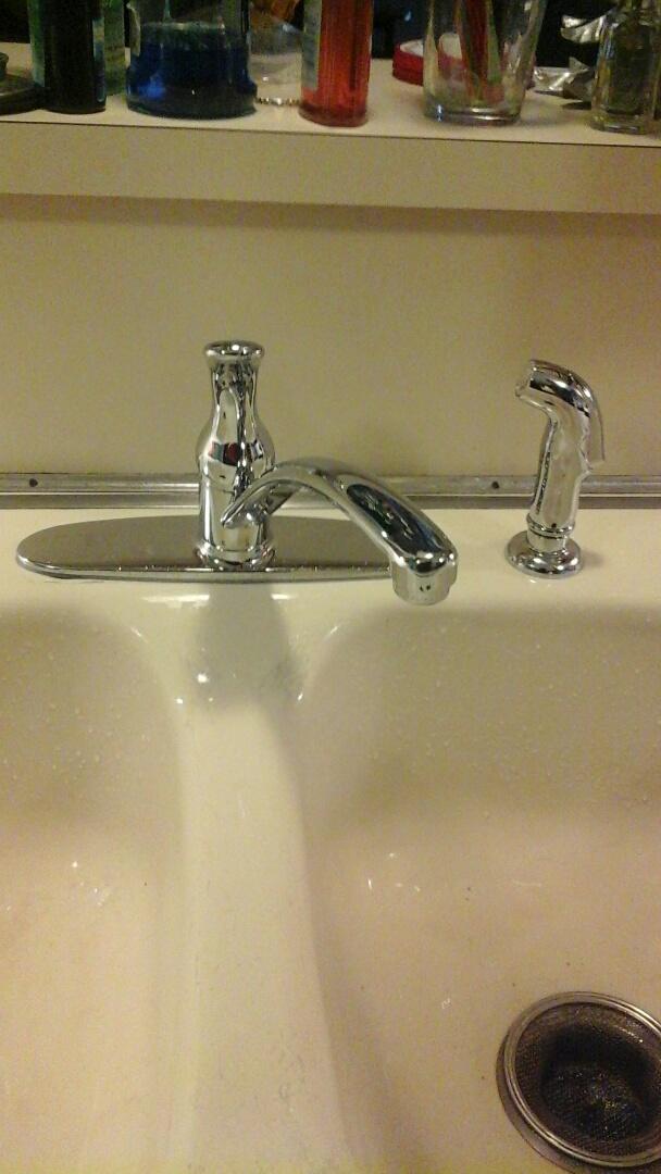 Richardson, TX - Leaking faucet