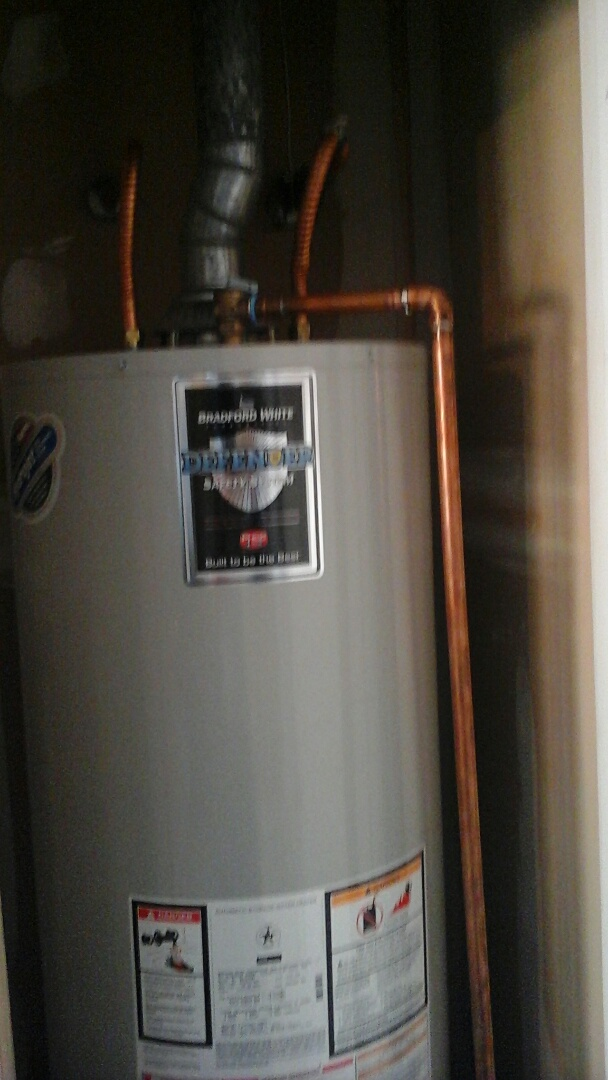 Plano, TX - Water heater leaking