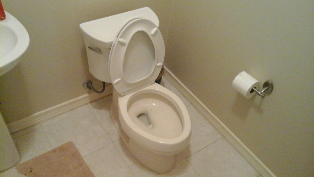 Irving, TX - Auger toilet