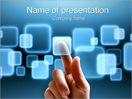 Most Popular PowerPoint Templates   Backgrounds  Google Slides     Touch Screen Interface PowerPoint Template