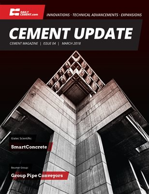 Cement Update - Issue 4 - March 2018