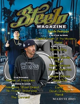 Steelo Magazine - March 2021 issue