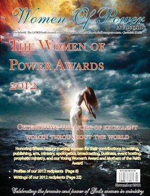 Women of Power Magazine, November 2012