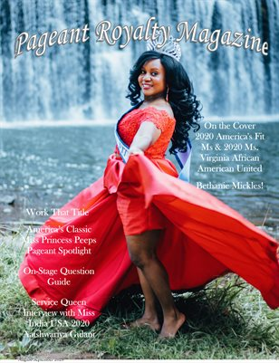 August/September Issue of Pageant Royalty Magazine