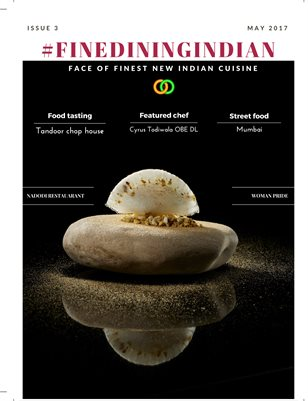 Fine dining Indian Magazine May 2017