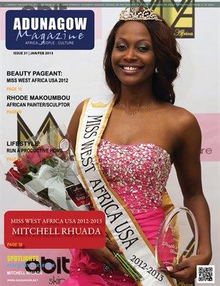 JAN/FEB 2013 Issue