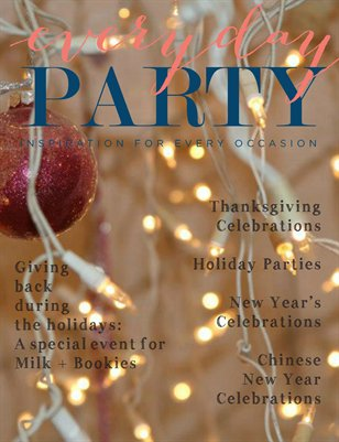 Everyday Party Magazine Winter 2013 Issue 4