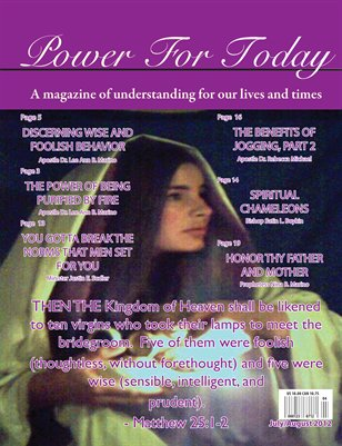 Power For Today Magazine, July/August 2012