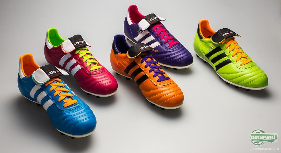 Adidas lanza una edición especial de las Adidas Copa Mundial con los  colores del Samba Pack 01d88aa77b300