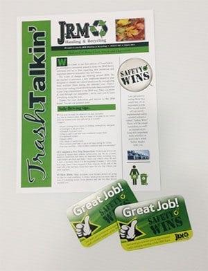 JRM Newsletter | Graphic Design, Print Design | Superior Promotions, Medford