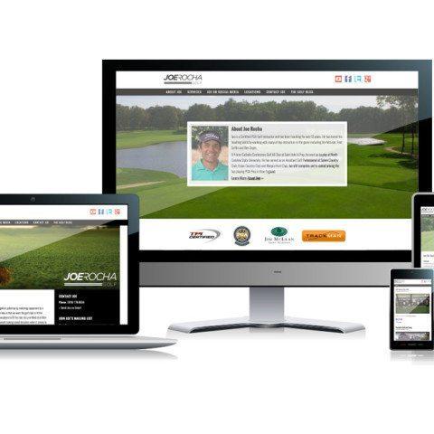 Joe Rocha Golf Website