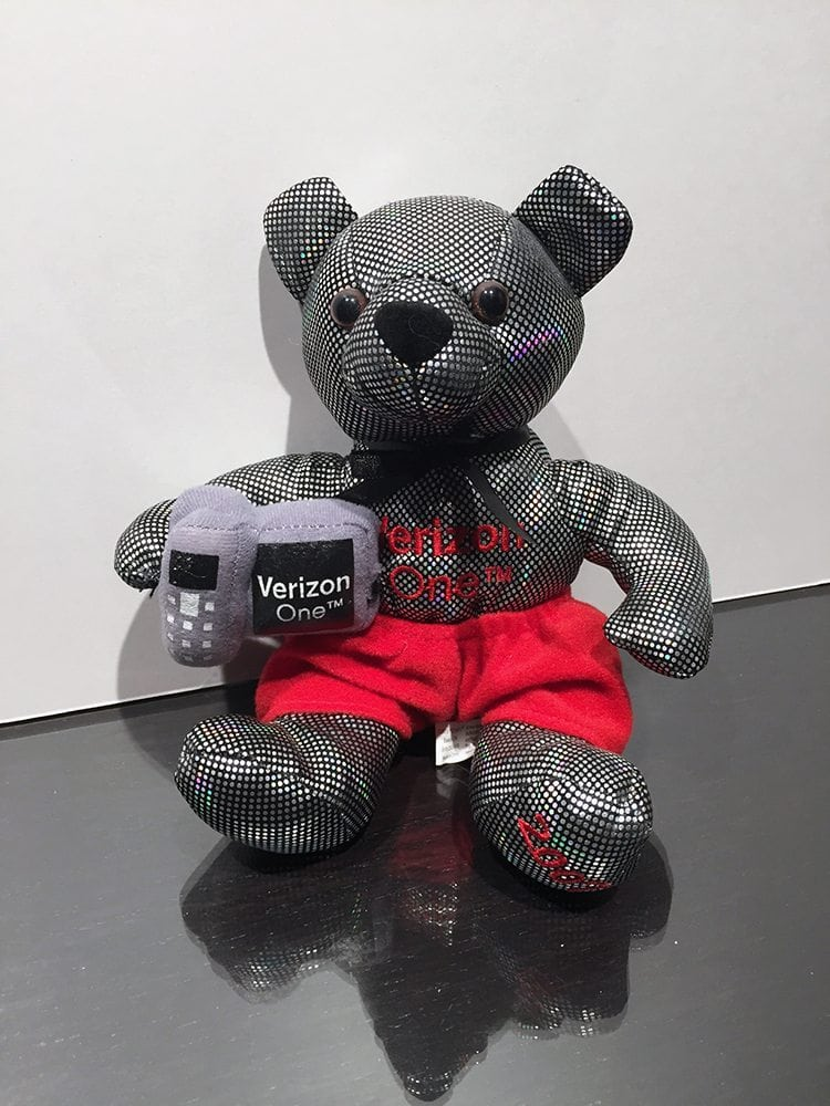 Verizon Beanie Bear